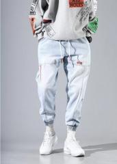 Модные мужски джинсы джогеры