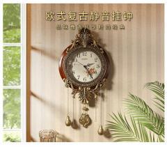 Креативные настенные часы для гостиной