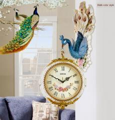 Европейские настенные часы, двухсторонние часы
