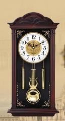 Большие маятниковые настенные часы для гостиной