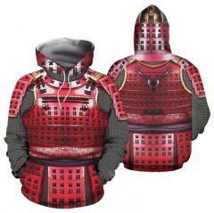 Мужские толстовки рыцаря средневековой брони...