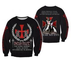 Templar Armor пуловер уличная одежда Harajuku
