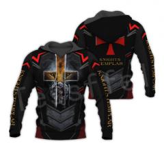 Tessffel Knights пуловер уличная одежда Толстовка