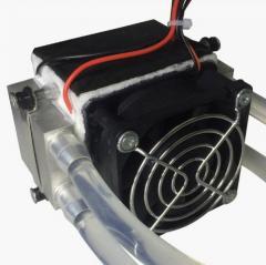 Алюминиевый вентилятор радиатора водяного охлаждения полупроводниковый электронный