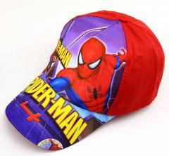 Стильная детская кепка с человеком-пауком для мальчиков