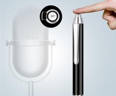 16 ГБ Цифровой аудио диктофон ручка MP3-плеер