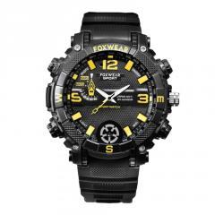 Водонепроницаемыецифровые часы с магнитной зарядкой смарт-камера видео часы IPX7
