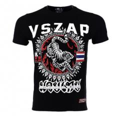 VSZAP боксерская футболка MMA, Спортивная мужская