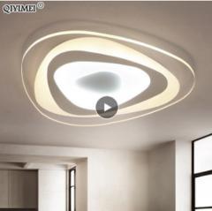 Ультратонкие треугольные потолочные люстры для гостиной, спальни.