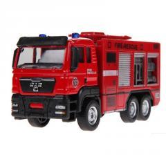 Детская Классическая игрушка для детей, пожарная машина для малышей на день рождения