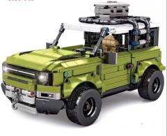 DIY модель автомобиля SUV обучающая игрушка