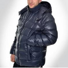Down-padded coats are man's, winter