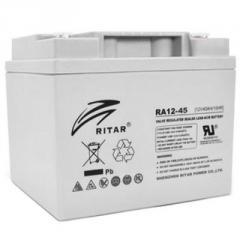 Батарея к ИБП Ritar AGM RA12-45,  12V-45Ah...