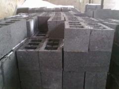 Шлакоблоки вибропрессованные 390х190х190, Блоки