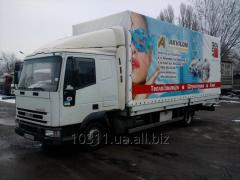 Реклама на тентах грузовых автомобилей
