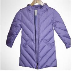 The coat is children's maiden winter down,