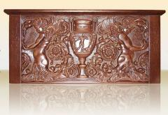 Products from tree carved