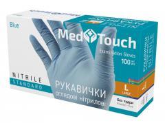 Перчатки нитриловые MedTouch L Standart