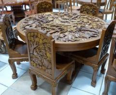 Мебель деревянная резная