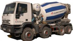 Concrete commodity Donetsk.