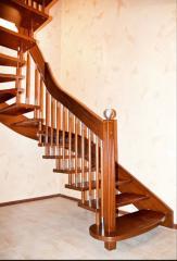 Лестницы деревянные, купить Винница, Украина