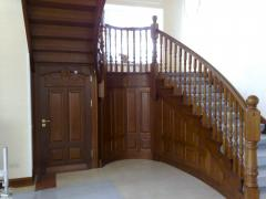 Wooden spiral staircases to order Ukraine,