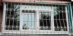 Решётки на балкон квадрат 12-прямые