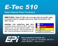 Антикорр для консервации металлоизделий Е-Тек 510