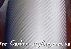 Пленка карбон 3d Orajet серебро