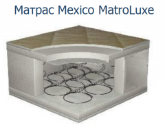 Mattress of ortepidicheskiya of Mexic