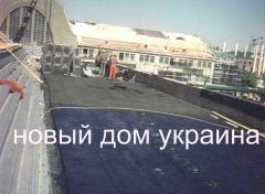 Roof thermal insulation, foamglass, Kiev, NOVYY