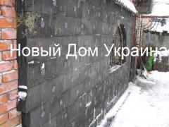 Wärmedämmung der Wände