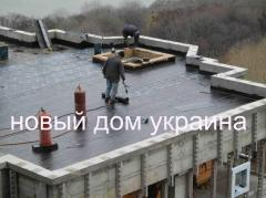 Hermal insulation of buildings,  foamglass, ...