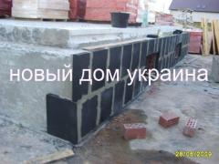 Hermal insulation of houses, foamglass, Kiev,