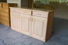Cabinet furniture from wood of a pine of the