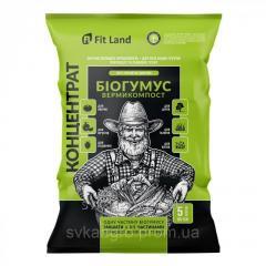 Биогумус биоудобрение 5 л концентрат, пакет