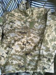 Куртки флисовые форменные светлый пиксель, ...