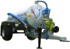 Cesspool machines of 2500 liters