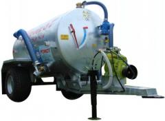 Cesspool machines of 3300 liters