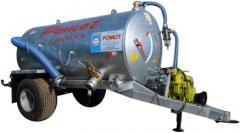 Cesspool machines 4000 of liters