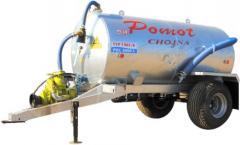 Cesspool machines of 5000 liters