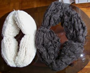 Пряжа чисто шерстяная для ручного вязания. Нить