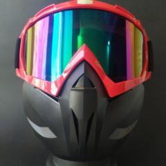 Лыжные очки HXS лыжная маска красная с...