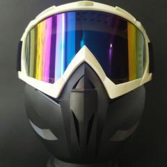 Лыжные очки HXS лыжная маска белая с защитой...
