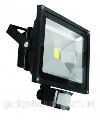 Прожектор светодиодный матричный SLIM с датчиком