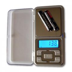 Высокоточные ювелирные карманные весы 668/MH-500,