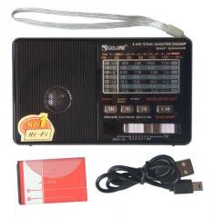 Радиоприемник c USB/SD и аккумулятором