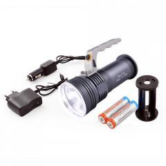 Фонарь-прожектор Bailong BL-801-2 XPE ЗУ 220V/12V,