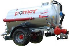 Machine cesspool Pomot of 6700 liters