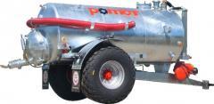 Machine cesspool Pomot of 8000 liters